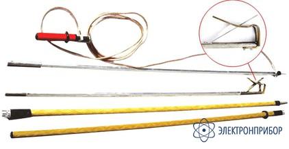 Заземление переносное для раздельного заземления проводов каждой фазы на воздушных линиях 330-500кв ПЗ-330-500Н (сеч. 25мм2)