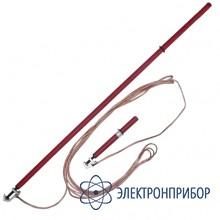 Заземление переносное для воздушных линий однофазное до 35кв с одной  штангой ЗПЛ-35Н-1