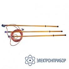Заземление переносное линейное трехфазное ЗПЛ-110-3/3-95