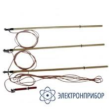 Заземление переносное для воздушных линий 3-х фазное до 35кв с тремя штангами ЗПЛ-35Н-3 (сеч. 70мм2)