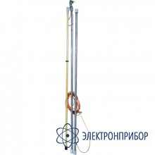 Заземление переносное линейное с металлическими штангами ЗПЛШМ-110-220