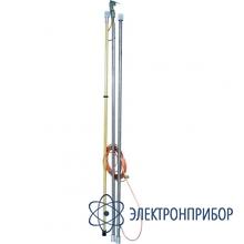 Заземление переносное линейное с металлическими штангами ЗПЛШМ-1150