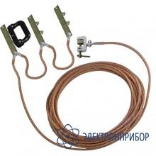 Заземление переносное подстанционное с втычными ножами ЗПП-1Н S-16