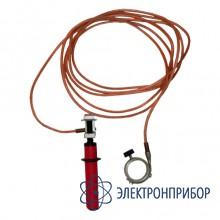 Заземление переносное для пожарных стволов ЗПС-1Н S=16мм, L=10м