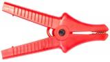 Зажим «Крокодил» изолированный красный К07 5,5 кВ