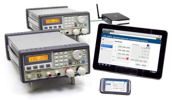 Программируемые электронные нагрузки с возможностью дистанционного управления АКТАКОМ AEL-8320L, AEL-8321L