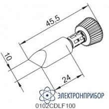 Клин 10 мм с конусообразным переходом (к i-tool) 102CDLF100C