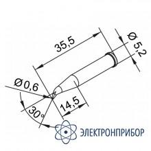 Конус длинный 0,6мм, изогнутое (к i-tool, i-tool nano) 102SDLF06L