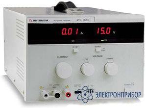 Источник постоянного тока 0,01 а-1 а и напряжения 0,1 в-60 в АТН-1061