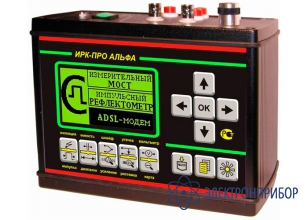 Кабельный прибор с рефлектометром и adsl модемом ИРК-ПРО Альфа
