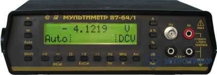 Вольтметр универсальный В7-64/1