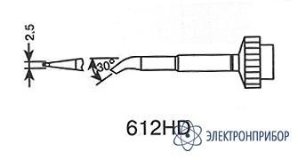 Микроволна 2,5мм, изогнутое (к techtool) 612HD