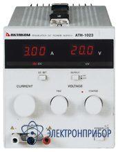 Источник постоянного тока 0,01 а - 3 а и напряжения 0,1 в - 20 в АТН-1023