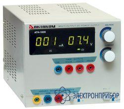 Источник постоянного тока 0-3 а и напряжения 0-30 в АТН-1037