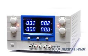 Двухканальный источник питания постоянного напряжения 0-30 в и тока 0-20 а АТН-2232