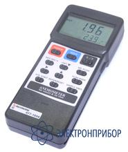 Анемометр с выносным датчиком для измерения скорости потока воздуха при высоких температурах (0,8-12 м/с) АТТ-1006