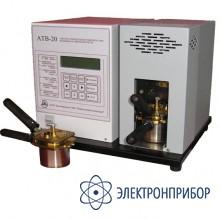 Аппарат автоматический для определения температуры вспышки в закрытом тигле АТВ-20