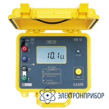 Измеритель удельного сопротивления грунта и устройств заземления C.A 6462