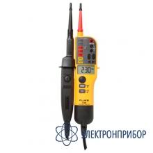 Тестер напряжения/целостности с жк-дисплеем, омметром и переключаемой нагрузкой Fluke T150