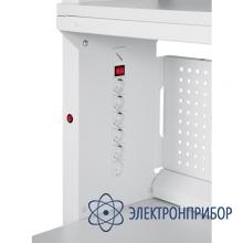 Стол рабочий гамма с левосторонним электроблоком ГМ-18-7/Л