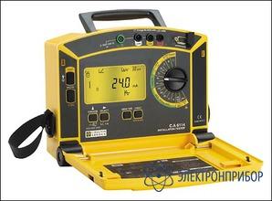 Прибор для комплексной проверки электрических установок C.A 6115 N