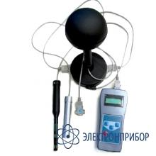 Прибор контроля параметров воздушной среды Метеометр МЭС-200А