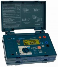 Измеритель сопротивления, увлажненности и степени старения электроизоляции MIC-5000