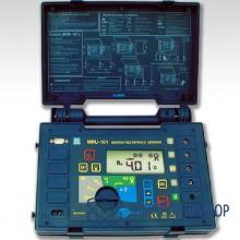 Измеритель сопротивления заземляющих устройств, молниезащиты, проводников присоединения к земле и выравнивания потенциалов MRU-101