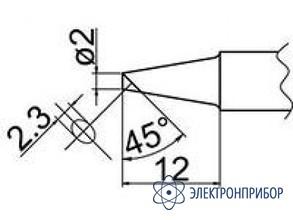 Паяльная сменная композитная головка для станций fx-838 T20-BCF2