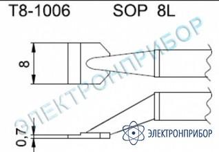 Паяльные сменные композитные головки для термопинцета fм-2022 T8-1006
