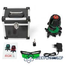 Лазерный нивелир RGK LP-62G