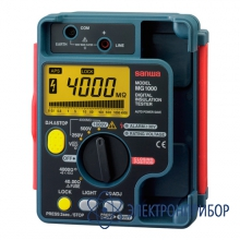 Измеритель сопротивления изоляции MG1000
