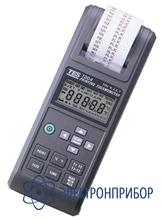 2-х канальный термометр с моментальной распечаткой изменений на встроенный принтер TES-1304