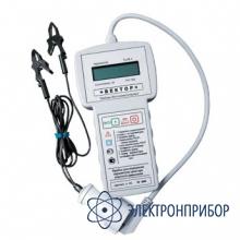 Прибор для измерения параметров однофазной цепи в режиме короткого замыкания ВЕКТОР
