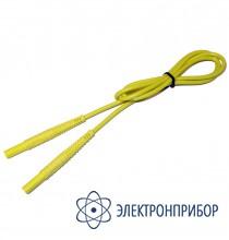 """Провод измерительный 1,2м с разъемами """"банан"""" желтый WAPRZ1X2YEBB"""