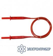 """Для mic-5000, mpi-525 Провод измерительный 1,8 м с разъемами """"банан"""" красный 5 кB"""
