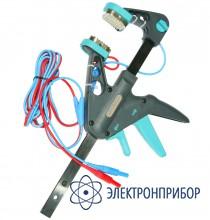 С двухпроводным кабелем (mmr-6xx, mzc-310s) Зажим струбцина Кельвина