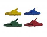 Комплект зажимов крокодил (4 штуки)