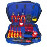 Набор инструментов электрика для высоковольтных работ до 1000В (аналог ProsKit PK-2803 BM)