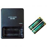 Зарядное устройство с двумя аккумуляторами АА